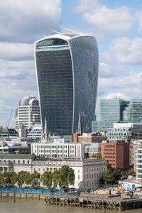 DWF is based in the walkie talkie building in the City of London