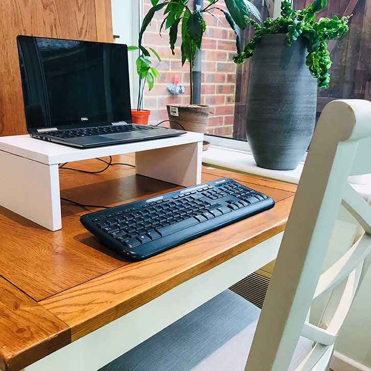 Laptop on stand master