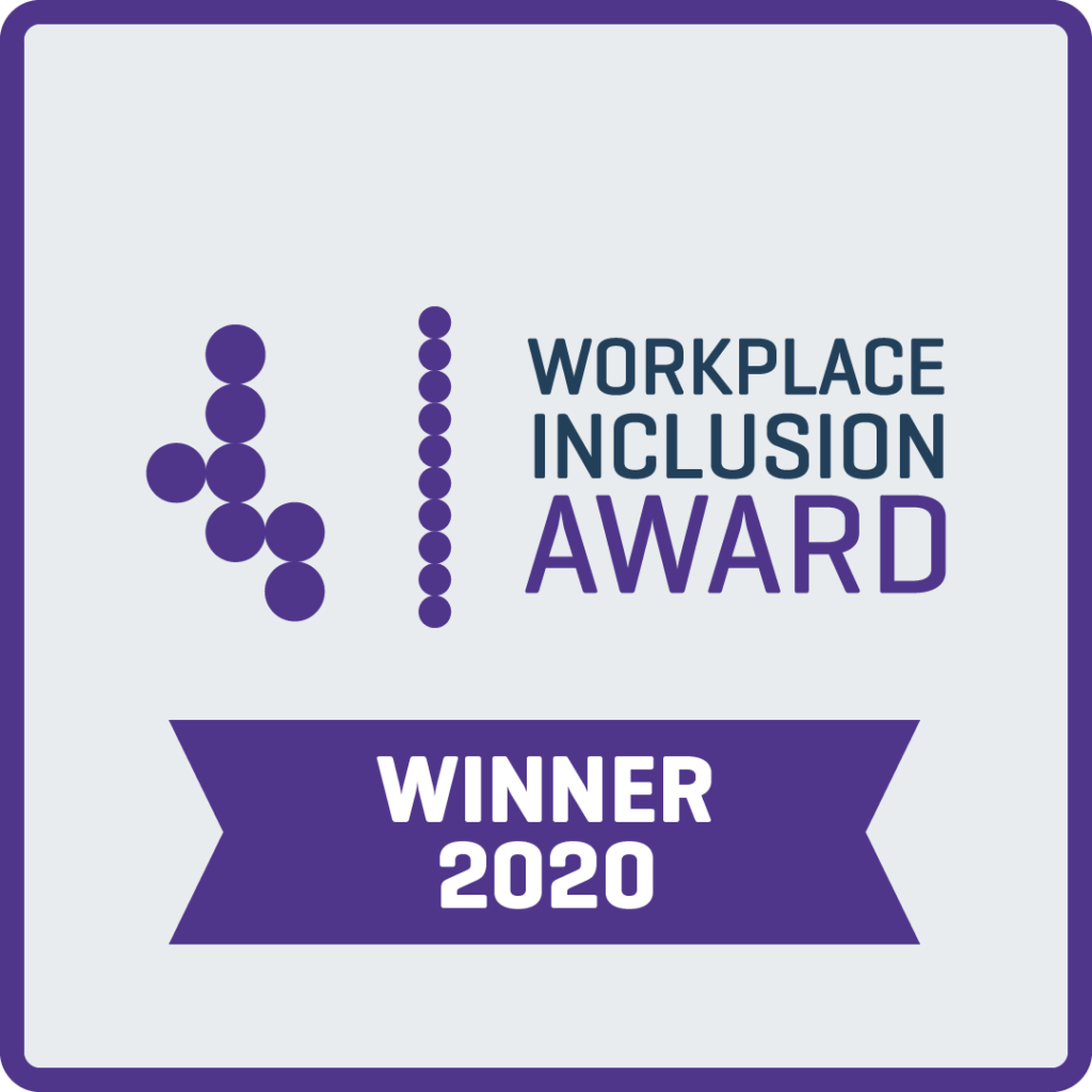 Tech For Good Workplace Inclusion Award logo